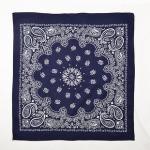 ผ้าพันคอ / ผ้าเช็ดหน้า EXO WOLF : สีน้ำเงิน