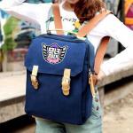 กระเป๋าสะพาย / เป้ทรงเหลี่ยม SNSD (สีน้ำเงิน)