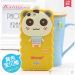 เคส OPPO Neo 5S , OPPO Joy 5 ซิลิโคน 3 มิติ เป็ดน้อย หมีน้อย หมูน้อย น่ารักๆ แบบที่ 4