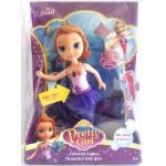 (WX05-6) ตุ๊กตานางเงือกมีไฟ-มีเสียง (สีม่วง)