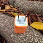 หัวปลั๊กเต๋า Iphone -สีส้ม