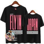 เสื้อยืด GOT7 FLY IN JAPAN : สีดำ XXL