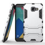 เคส Samsung Galaxy A5 2016 เคสกันกระแทกแยกประกอบ 2 ชิ้น ด้านในเป็นซิลิโคนสีดำ ด้านนอกพลาสติกเคลือบเงาโลหะเมทัลลิค แบบที่ 4