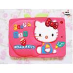 เคสซิลิโคน 3D Hello Kitty ipad mini-ชมพูเข้ม