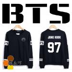 เสื้อแขนยาว BTS สีดำ : SUGA 93