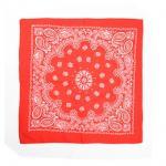 ผ้าพันคอ / ผ้าเช็ดหน้า EXO WOLF : สีแดง
