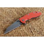 "RHK 3.5""Wharncliffe Fatty Orange G-10"