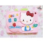 เคสซิลิโคน 3D Hello Kitty ipad mini-ชมพูอ่อน