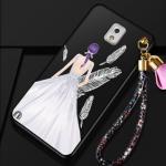 เคส Samsung Note 3 พลาสติกลายผู้หญิงแสนสวย พร้อมที่คล้องมือ สวยมากๆ แบบที่ 8