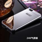 เคส Huawei 4X (aLek 4g plus) ขอบเคสโลหะ Bumper + พร้อมแผ่นฝาหลังเงางามสวยจับตา แบบที่ 3