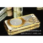 เคสไอโฟน 5/5s Shengo ลายเพชร ฝาประกบแหวนเพชร-ทอง