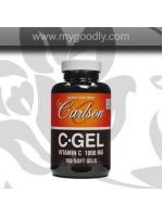 Carlson C Gel Vitamin C 1000 mg (วิตามินซีเจล) 1 กระปุก 100 ซอพเจล ราคา 800 บาท