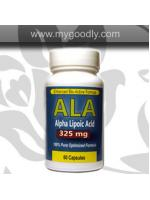 Alpha Lipoic Acid (ALA) 325 mg (ตัวเร่งขาว) 1 กระปุก 60 แคปซูล ราคา 400 บาท