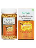 นมผึ้ง Green Health 1200 mg เข้ม 2.4% ดีที่สุด เห็นผลดีที่สุด ดีกว่าทุกรุ่น ราคา 3200 บาท