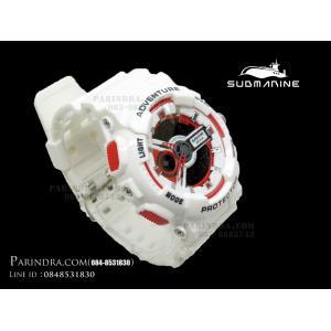 นาฬิกา US submarine Adventure Protector รุ่น TP3163M สีขาว-แดง