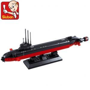 เรือดำน้ำ (Submarine) SLUBAN-0391. ตัวต่อเลโก้จีน เรือดำน้ำ