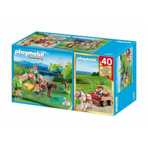 Playmobil 5457 Country Pony 40th Anniversary Compact Set
