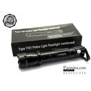 ไฟฉายช๊อต ไฟฉาย LED Police Light Flashlight (reinforced) แบบมีเครื่องช๊อตในตัว
