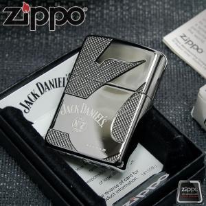 """ไฟแช็ค Zippo แท้ 28817 """"Jack Daniels,Armor, Deep Carved, Black Ice Finish"""" แท้นำเข้า 100%"""
