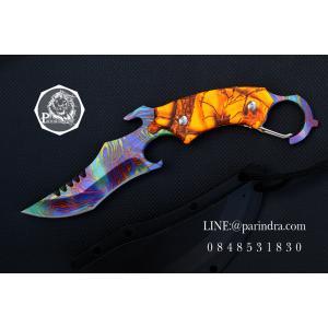 มีดคารัมบิต (Karambit) RAZOR Tactical Survival Knife Series (OEM) ใบรุ้ง คมกริบ