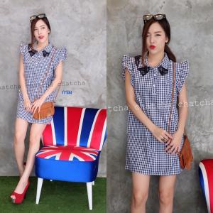 Chic & Check Dress เดรสลายตาราง