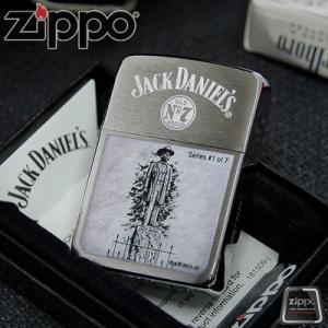 """ไฟแช็ค Zippo แท้ ตำนานแห่ง Jack Daniel's ตัว Limited Edition """" Jack Daniel's Scenes Lighter Limited, #1 of 7 """" #28736 แท้นำเข้า 100%"""