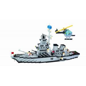 เรือรบ (Warship) ENLIGHTEN-112. ตัวต่อเลโก้จีน เรือรบ century ส่งฟรี EMS