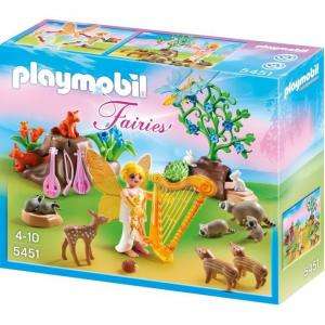 Playmobil 5451 Music Fairy with Woodland Creatures