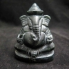 พระพิฆเนศวรหยกดำแกะสลัก (Lord Ganesha Craving Black Jade)
