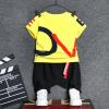 เสื้อ+กางเกง สีเหลือง แพ็ค 4ชุด ไซส์ S-M-L-XL (เหมาะสำหรับ 6ด.-4ปี)