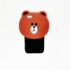 เคสยางนิ่มหมีบราวน์ ไอโฟน 6 plus/6s plus 5.5 นิ้ว