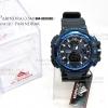 นาฬิกา D-ZINER ขอบเข็มทิศสีฟ้า