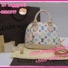 Louis Vuitton Multicolor Canvas Alma BB **เกรดท๊อปมิลเลอร์** (Hi-End)