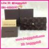 Louis Vuitton Monogram Canvas Wallet กระเป๋าสตางค์หลุยส์ ใบยาวสามพับ **เกรดAAA+**