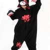 ชุดนอนแฟนซีหมีโหด+รองเท้าการ์ตูน