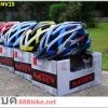 หมวกจักรยาน MOON (Inmold) MV29 มาพร้อมแก๊บบังแดด 2015