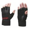 HARBINGER Pro Series Wristwrap Glove Black 2 glove
