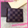 Louis Vuitton Damier Canvas Wallet กระเป๋าสตางค์หลุยส์ใบสั้นสองพับ ** เกรดAAA+ **