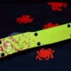 "Microtech Ultratech Bayo Zombie Tech OTF Knife (3.5"" Two-Tone Plain) 120-1Z"
