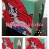 ชุดปักแผ่นเฟรมนางเงือก Ariel