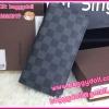 Louis Vuitton Damier Graphite Brazza Wallet **เกรดท๊อปมิลเลอร์ ** (Hi-End)
