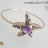 กำไลข้อมืออเมทิสต์ปลาดาว (Amethyst Starfish Bracelet)