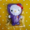 ตุ๊กตาคิตตี้ Hello kitty McDonaldLand collection (in soft package) ☆ Grimace ชุดม่วง