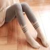 [พร้อมส่ง] L6731 เลกกิ้งเนื้อถุงเท้ากันหนาว แบบเต็มตัว ทอลายหูแมว เหมือนใส่ถุงเท้าสุดน่ารัก