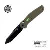 มีดพับ Ganzo รุ่น KNIFE FIREBIRD F7563 GR ด้ามสีเขียวใบมีดดำ ของแท้ 100%