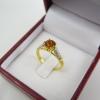 แหวนเพชรพลอยซีทริน