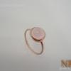 แหวนเงินโรสควอตซ์(Silver ring rose quartz)
