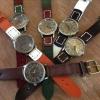 Retro Watch...Leather Strap นาฬิกาสายหนังแนวVintage