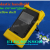 Yellow plastic handheld