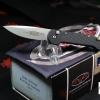 Microtech Mini UDT Automatic, Black Handle, Bead Blast Plain MT155-7